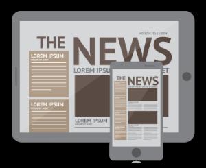 Content-Distribution, Medien